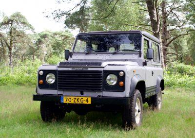 Land Rover 90 voor