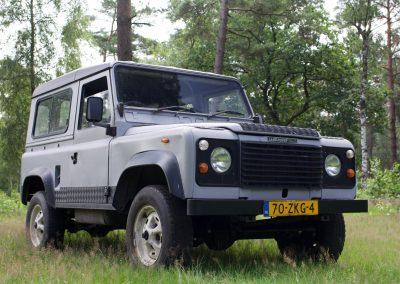 Land Rover 90 rwchts voor