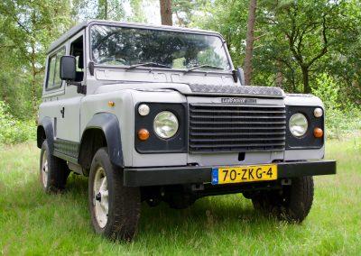 Land Rover 90 rechtsvoor