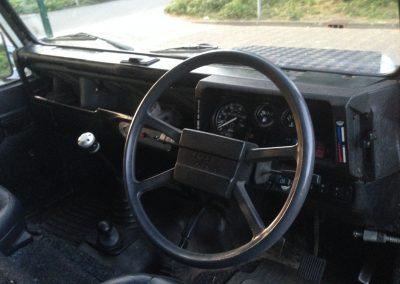 Land Rover 90 stuurwiel
