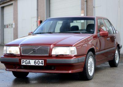 Volvo 850 pearl red linksvoor