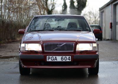 Volvo 850 pearl red voorkant