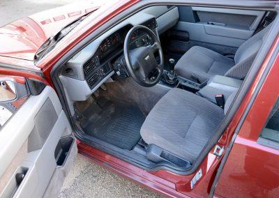 Volvo 850 pearl red bestuurdersstoel