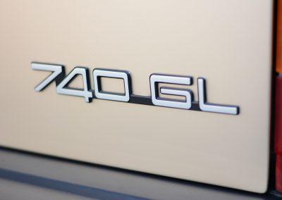 Volvo 745 badge