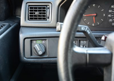 Volvo 745 dashboard detail