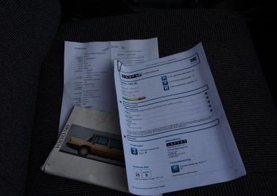 Volvo 745 boekjes
