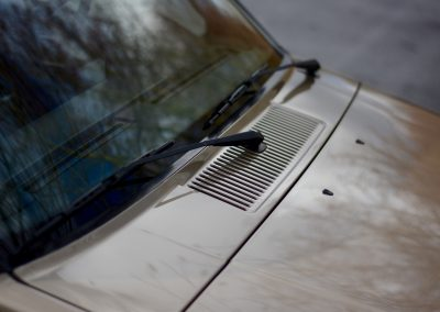 Volvo 745 detail rooster