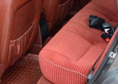 Volvo 740 achterbank