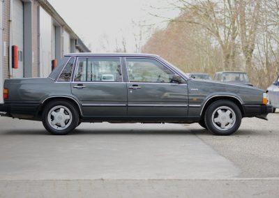 Volvo 740 rechter zijkant