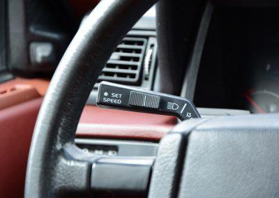 Volvo 740 cruise control