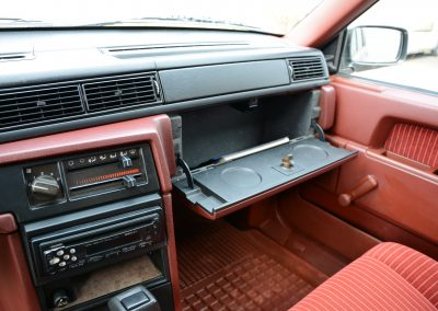 Volvo 740 dashboard