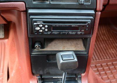 Volvo 740 middenconsole