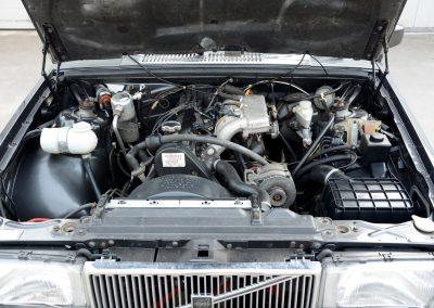 Volvo 740 motorruimte b230f