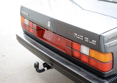 Volvo 740 achterkant