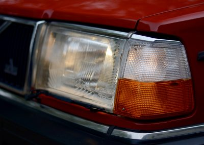 Volvo 240GL koplamp