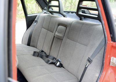 Volvo 240GL achterbank