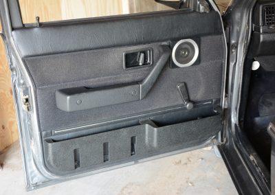 Volvo 244 antraciet deurpaneel