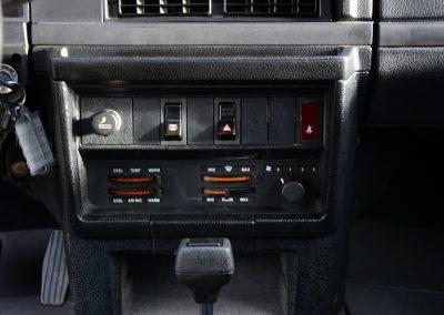 Volvo 244 antraciet dashboard