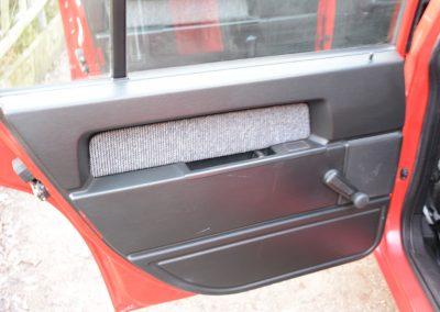 Volvo 745 rood deurpaneel