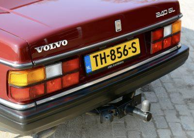 Volvo 244 achterkant