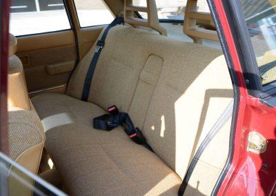 Volvo 244 achterbank