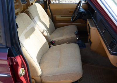 Volvo 244 voorstoelen