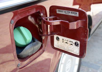 Volvo 244 tankdop