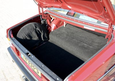 Volvo 244 kofferbak