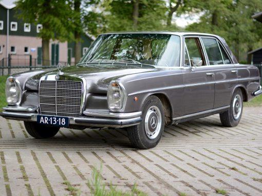 Mercedes 280 SE – W108 – 1968 – VERKOCHT