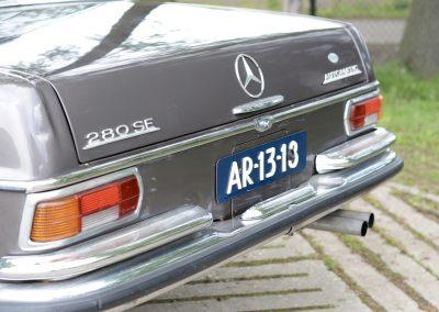 280SE W108 achterkant