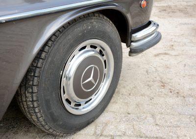 280SE W108 wielen