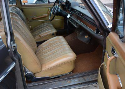 280SE W108 interieur