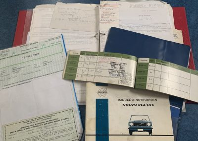Volvo 142 boekjes