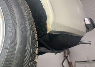 Volvo 142 achterscherm